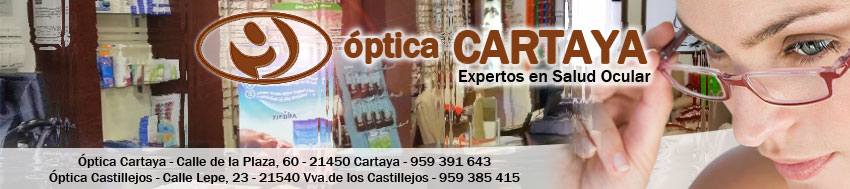 BANNER OPTICA-CARTAYA